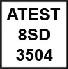 atest 8sd 3504