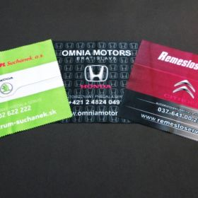 Hadříky z mikrovlánka - útěrky - Citroen, Honda, Škoda