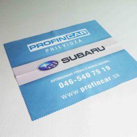 Hadříky z mikrovlánka - útěrky - Subaru