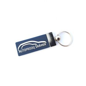 Kožené a gumové klíčenky s logem - reference - Autoprodej Šrámek