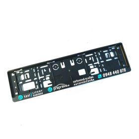 Podznačky auto - držáky SPZ - CL preprava 3D