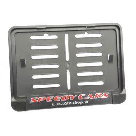 Podznačky moto - držáky SPZ - Speedy Cars