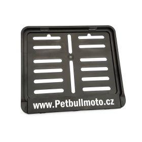 Podznačky moto - držáky SPZ - Petbullmoto