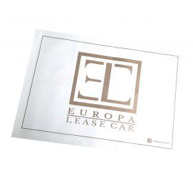 Ochranné papírové koberečky pro auto servisy - Europa Lease Car