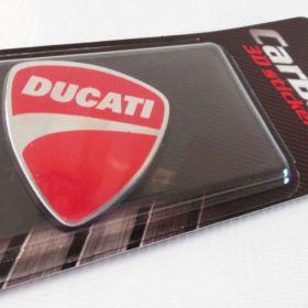 3D stickery - samolepky na auto - Ducati