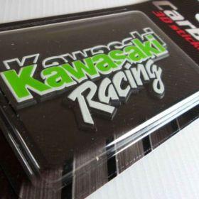 3D stickery - samolepky na auto - Kawasaki