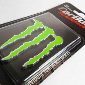 3D stickery - samolepky na auto - Monster Energy
