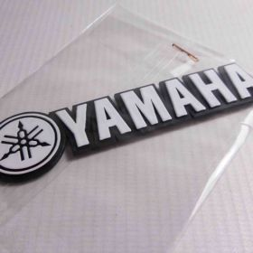 3D stickery - samolepky na auto - Yamaha