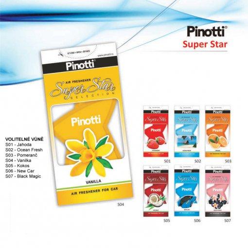 Pinotti Super Star - gelový osvěžovač vzduchu